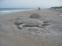 I plan on taking my sculpture class - this spring to create some sand sculptures!!