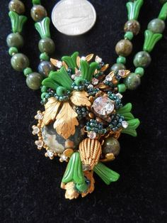 Vintage Haskell Necklace and Earrings | eBay