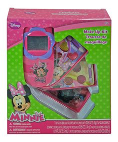 Minnie Slide Out Phone Cosmetic Set by Minnie Mouse #zulily #zulilyfinds