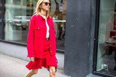 Oslo Fashion Week Street Style - Best Looks from Oslo Fashion Week Spring 2016
