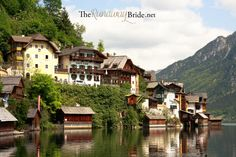 A Favorite of My European Treasures : Hallstatt, Austria Runaway Bride, Running Away, Austria, Places Ive Been, Culture, Adventure, Mansions, House Styles, Pictures