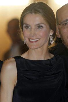 Doña Letizia asiste a un concierto de la fundación Luca de Tena
