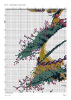 "Gallery.ru / cnekane - Альбом ""Cuadro 14"" Cross Stitch Designs, Cross Stitch Embroidery, Map, Crossstitch, Crafts, Tree Skirts, Christmas Tree, Xmas Cross Stitch, Dots"