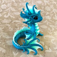 Water Dragon Sculpture by Dragons and Beasties