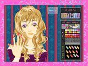 Jocuri cu Barbie Manichiura