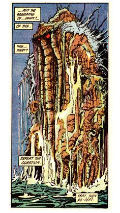 Marvel Comics Presents #2 (September 1988) Man-Thing: Elements Of Terror Words by Steve Gerber