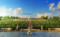 Sanssouci palace in Potsdam: things to see and entrance times