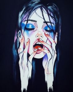 Harumi Hironaka is a 29 year old artist Japanese artist born in Peru and raised in Japan. By day, she's a professional translator and interpreter, but when