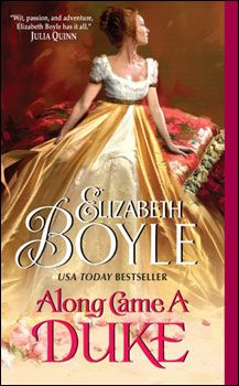 """Along Came a Duke - I can't even begin to count how many ways I love this cover--especially since the artist caught the joke of the title, my rift on """"along came a spider"""" and put her on a grand tuffet."""