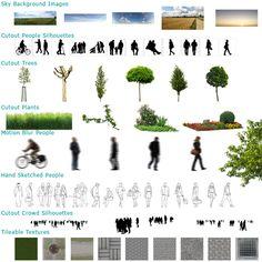 """""""Open ArchiVIZ Pack"""" – Kostenloser Download Grafikpaket zur 3D Architekturvisualisierung » tonytextures.de"""