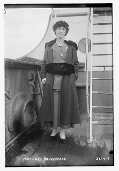 Inez Milholland Boissevain (August 6, 1886 – November 25, 1916) was a suffragist, labor lawyer, World War I correspondent, and public speaker who greatly influenced the women's movement in America.