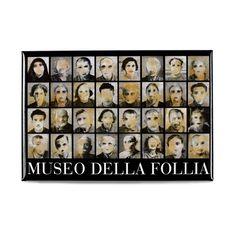 """Entrate ma non cercate un percorso. L'unica via è lo smarrimento."""" Scopri la nuova linea di #gadget personalizzati realizzati per il Museo della Follia: una nuova emozionante esibizione organizzata da #VittorioSgarbi con al centro la #follia in tutte le sue forme. Leggi il post: http://blog.sadesign.it/museo-della-follia/ MuSa - Museo di Salò #madeinsadesign #promotionalproducts #merchandisingparadise #bookshop #musei #awesomecustomer"""