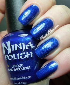 Ninja Polish - Sapphire Dreams (Ninja Polish Holiday 2012 Collection) / PointlessCafe