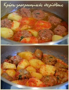 Greek Cooking, Fun Cooking, Cookbook Recipes, Cooking Recipes, Healthy Recipes, Cyprus Food, The Kitchen Food Network, Mince Recipes, Greek Recipes
