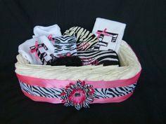 Personalized Baby Diaper Gift Basket Diva Princess by mamabijou, $85.00