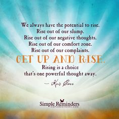 Get Up and Rise