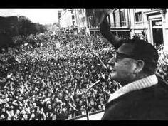 ▶Último discurso del presidente constitucional de Chile, Salvador Allende, el 11 Sept 1973, justo antes de su muerte, haciendo frente al golpe de Estado de los militares fascistas chilenos, apoyados por los EEUU.