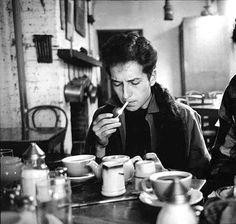 bob dylan + coffee