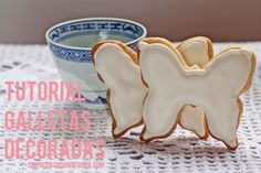 Galletas Decoradas Cookie Cutters, Sugar, Cookies, Desserts, Food, Decorated Cookies, Tutorials, Recipes, Crack Crackers