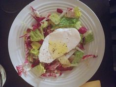 Endive and Radicchio Salad with Fresh Mozzarella.  Simple, elegant, and a huge hit, even with the kids.