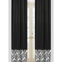 Add cute fabric to the bottom of my too-short drapes!  (Maybe with Velcro so I can change my mind?)