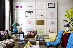 Jeffrey Bilhuber Modern House