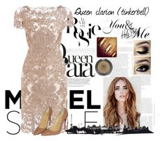 """""""Queen clarion formal look"""" by marinxtahlia ❤ liked on Polyvore featuring Whiteley, Christian Louboutin and Topshop"""