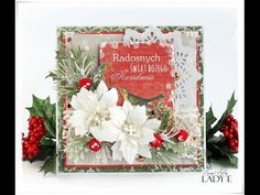 Merry Wishes Christmas card featuring Wonderland stamp set from Stampin'Up! - YouTube