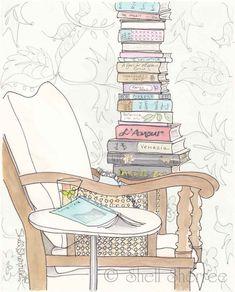 Never enough books...