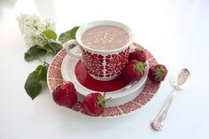 Strawberry smoothie Mansikkasmoothie