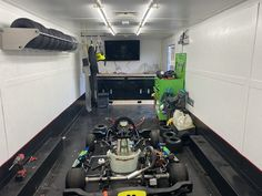 Karting, Super Trailer, Go Kart Racing, Trailer Organization, Enclosed Trailers, Trailer Interior, Types Of Doors, Wheels And Tires, Summer Time