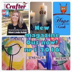 """In this issue we present to you, among other things, an interview with Linda Kuhar author of """"Worthy of a miracle"""", we are celebrating Epiphany and Sybil McBeth has written an article about it and the importance of this festivity, there is also craft projects and tutorials related to Epiphany, hope and world cancer day. The overall theme for this issue is Epiphany, Hope, Bible verse from Romans 15:13 and support for world cancer day."""