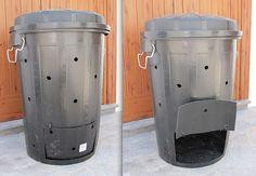 Compostera hecha en casa