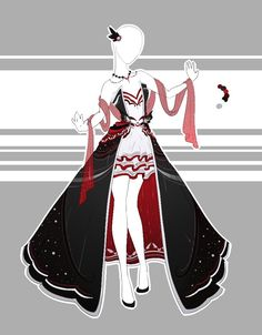 .::Outfit Adoptable 65(OPEN)::. by Scarlett-Knight on DeviantArt