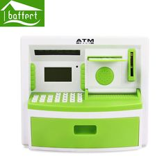 Safety Electronic Digital Piggy Bank Mini ATM Money Box Music Password Saving Coins Cash cofre Chinese Speech as Children Gift-in Money Boxes from Home & Garden on Aliexpress.com | Alibaba Group