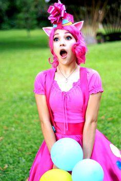 Pinkie Pie cosplay by ~PameeKawaii on deviantART