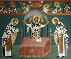 Religious Paintings, Church Interior, Byzantine Icons, Eucharist, Orthodox Icons, Fresco, Altar, Jesus Christ, Christianity