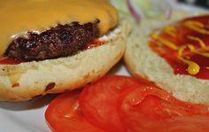Sandra's Alaska - Recipes: Charcoal Grilled Moose Burgers on Onion Rolls with the fixings, oh my. Moose Meat, Moose Recipes, Charcoal Grill, Toad, Dinner Tonight, Bulletin Board, Burgers, Yum Yum, Alaska