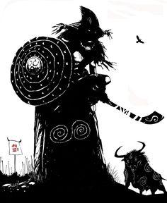 Holli Would, Dark Fantasy, Fantasy Art, Celtic Drawings, Irish Mythology, Irish Tattoos, Celtic Warriors, Pagan Witch, Sword And Sorcery