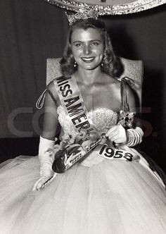 Miss America 1958 - Marilyn Van Derbur (CO) - I was 16 and lived in Denver...this was a BIG deal at my house!