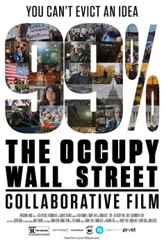 99% will explore the #occupy movement past, present, and future.