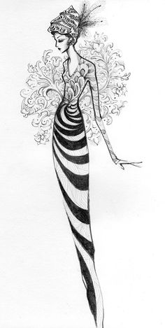 Persephone | Melissa Brunet's illustration & graphic design blog