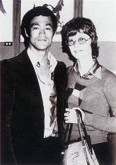 """Linda and I aren't one and one. We are two halves that make a whole -- two halves fitted together are more efficient than either half would ever be alone!""   (Bruce Lee)"
