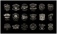 Awesome Custom Vintage Typography by BMD Design