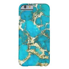 """Turquoise Phone Case"" iPhone 6 Case"