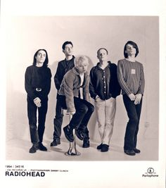 """qwerrie: """" Radiohead in aug 1994 © Danny 'Greedy' Clinch full set here. """""""