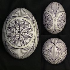 A goose egg paradox zentangle  ready for some color