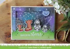 the Lawn Fawn blog: Lawn Fawn Intro: Upon a Star, Stitched Fireworks