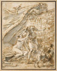 Venus and Adonis by Bartłomiej Malczewski, ca. 1810 (PD-art/old), Muzeum Narodowe w Warszawie (MNW)