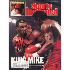 Mike Tyson Fanatics Authentic Autographed Sports Illustrated King Mike Magazine - $164.99